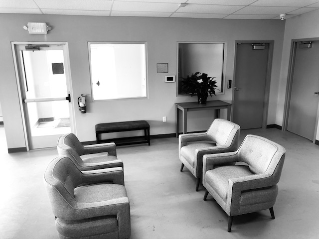 Lobby area furniture